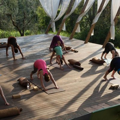 In Sabina, Italy - yoga holiday - YOAS