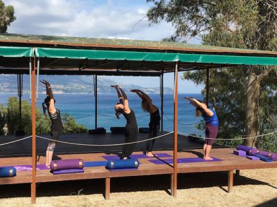 Kefalonia yoga holiday - Yoga on a Shoetring