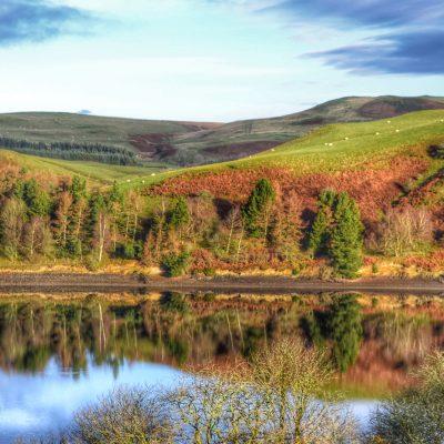 Garth Barns, Llanidloes, Wales - YOAS retreat