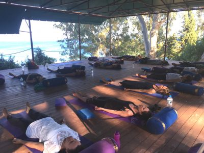 Kefalonia yoga holiday - Yoga on a Shoestring