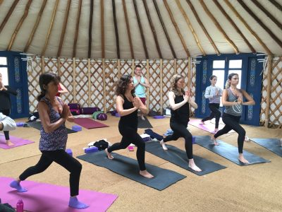 42 Acres yoga retreat Somerset - Yoga on a Shoestring