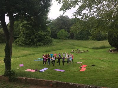 Braziers Park - yoga - Yoga on a Shoestring retreats