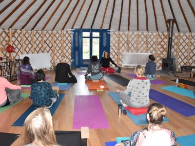 42 Acres yoga retreat - Yoga on a Shoestring