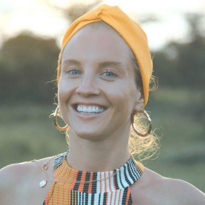 Mona Lisa Godfrey - Yoga on a Shoestring teacher