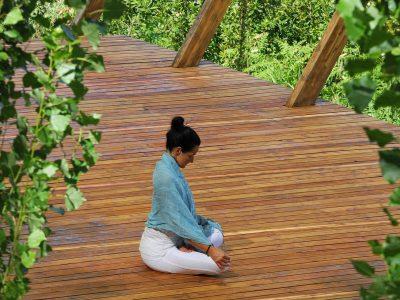 In Sabina, Italy - yoga holiday - YOAS