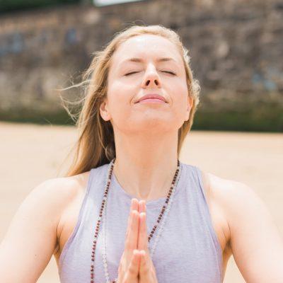 Amy McDonald - yoga teacher - Yoga on a Shoestring