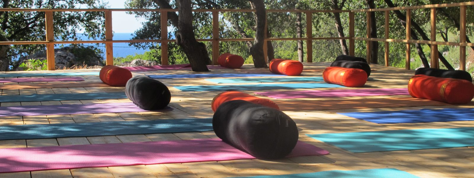 Ithaca - Yoga holidays - Yoga on a Shoestring