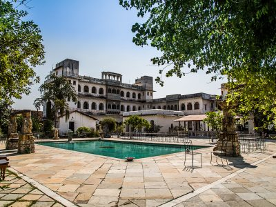 Yoga on a Shoestring - Castle Bijaipur, Rajasthan, India
