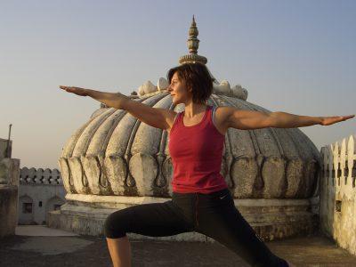 Yoga on a Shoestring - Castle Bijaipur, Rajasthan, India