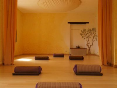 In Sabina, Italy - yoga holiday