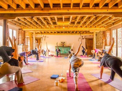 West Lexham retreat UK - Yoga on a Shoestring