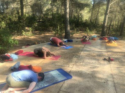 Ibiza - Moving Arts - Yoga on a Shoestring yoga holiday