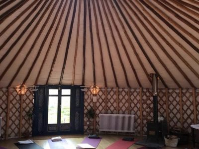 42 Acres Somerset - Yoga on a Shoestring retreats - yoga - YOAS