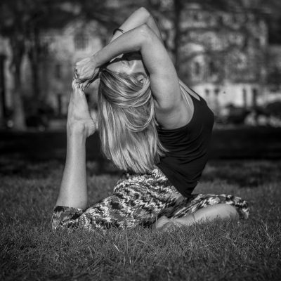 pigeon pose - Yoga on Shoestring - YOAS news