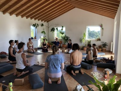 Cocoon Portugal - YOAS holidays - Yoga on a Shoestring