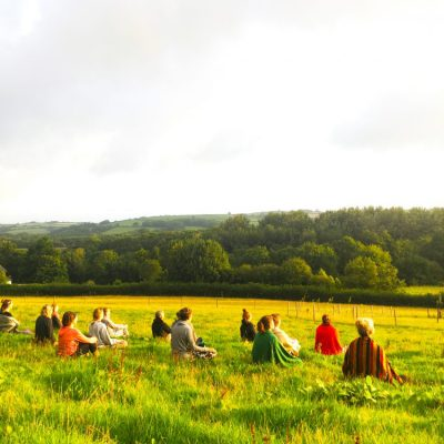 Sadhana meditation - UK yoga retreats - YOAS - yoga on a shoestring retreats
