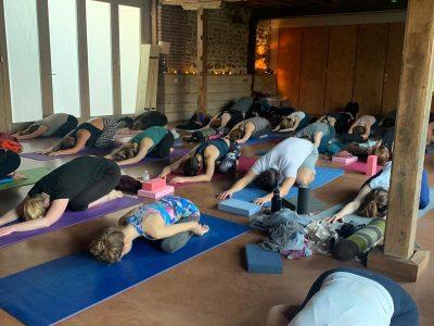 West Lexham retreat UK - Yoga on a Shoestring - YOAS