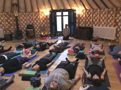 42 Acres Somerset - Yoga on a Shoestring retreats - yoga - YOAS
