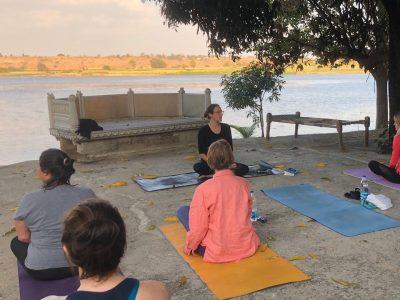 Yoga on a Shoestring - Castle Bijaipur, Rajasthan, India - YOAS - yoga holiday