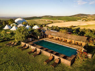 Suryalila Pool - Spain - Yoga Retreat - YOAS - Yoga on a Shoestring